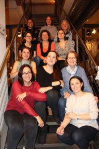Gruppenbild der Damen